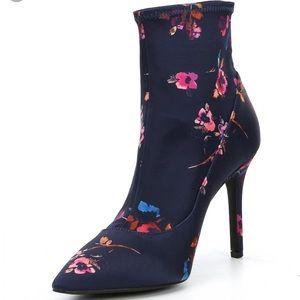 Gianni Bini Floral Sock Booties **NEW*